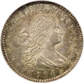 Early Half Dimes: , 1796/5 H10C MS66 PCGS. V-2, LM-2, R.6. The years 1795 and 1796 werebusy and productive ones for the fledgling U.S. Mint. D...