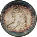 Bust Half Dollars: , 1808 50C MS65 NGC. O-102a, R.2. The die cracks on the obverse andreverse of this piece are interesting to contemplate. Thi...