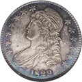 Proof Bust Half Dollars: , 1829 50C Small Letters PR66 NGC. O-107, R.4 for the variety,apparently unique as a proof. Ex: Pittman. In his catalog of t...