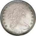 Early Dollars: , 1799 $1 No Berries MS63 PCGS. B-12a, BB-160, R.3. Die State III perthe Bowers Silver Dolla...