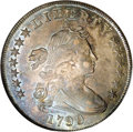 Early Dollars: , 1799/8 $1 13 Stars Reverse MS62 NGC. B-1, BB-142, R.4. This is alate die state, and may qual...