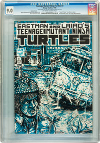 Teenage Mutant Ninja Turtles #3 Variant Cover - Signed by Kevin Eastman and Peter Laird (Mirage Studios, 1985) CGC VF/NM...