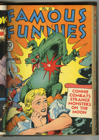 Famous Funnies #85-96 Bound Volume (Eastern Color, 1941-42)