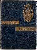 Football Collectibles:Publications, 1940 Vince Lombardi Signed High School Yearbook. ...