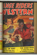 Pulps:Western, Range Riders Western Bound Volume (Better Publications, 1943)....
