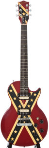 Musical Instruments:Electric Guitars, 1984 Gibson Invader Red Solid Body Electric Guitar, Serial Number #81534583....
