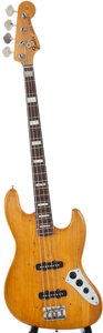 Musical Instruments:Bass Guitars, 1974 Fender Jazz Bass Refinished Electric Bass Guitar, Serial Number #537795....