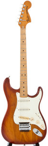 Musical Instruments:Electric Guitars, 1979-1981 Fender Stratocaster Sienna Sunburst Solid Body ElectricGuitar, Serial Number #S993443....