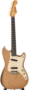 Musical Instruments:Electric Guitars, 1959 Fender Duo-Sonic Desert Sand Solid Body Electric Guitar,Serial Number #39057....