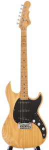 Musical Instruments:Electric Guitars, G&L Skyhawk Natural Solid Body Electric Guitar, Serial Number#G018473....