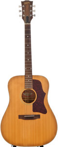 Musical Instruments:Acoustic Guitars, Circa 1974 Gibson J-50 Natural Acoustic Guitar, Serial Number #A0063354....