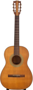 Musical Instruments:Acoustic Guitars, 1960s Gibson C1S Natural Classical Guitar, Serial Number#530534....