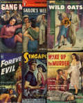 Pulps:Miscellaneous, Assorted Bad Girl-Themed Paperbacks (Various, 1952-54).... (Total: 7 Items)
