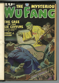 Pulps - Assorted Titles Bound Volumes Group (Various, 1935-53).... (Total: 8 Items)