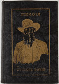 Books:Signed Editions, Cyclone Davis. Memoir. Sherman: Courier Press, 1935. Autographed edition. Signed by Cyclone Davis and Cyclone Davi...