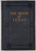 Books:First Editions, Holland Thompson [editor]. The Book of Knowledge: The Book ofTexas. Dallas: Grolier Society, [1929]. Octavo. 384 pa...