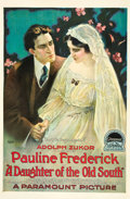 """Movie Posters:Drama, A Daughter of the Old South (Paramount, 1918). One Sheet (27"""" X41"""").. ..."""