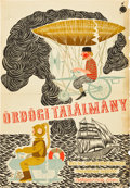 "Movie Posters:Fantasy, The Fabulous World of Jules Verne (Mokep, 1958). Hungarian Poster(22.5"" X 32"").. ..."