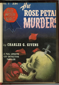 Pulps - Detective-Themed Bound Volumes (Various, 1936-52).... (Total: 12 Items)