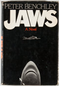 Books:First Editions, Peter Benchley. Jaws. Garden City: Doubleday, 1974. Firstedition, first printing. Octavo. 311 pages. Publisher'...