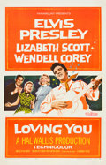"""Movie Posters:Elvis Presley, Loving You (Paramount, 1957). One Sheet (27"""" X 41"""").. ..."""