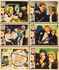 "Movie Posters:Adventure, Treasure Island (MGM, 1934). Title Lobby Card and Lobby Cards (5) (11"" X 14"").. ... (Total: 6 Item)"