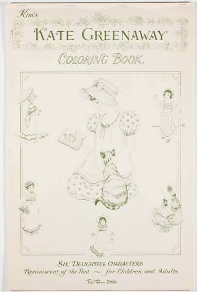 Kate Greenaway. Kim\'s Kate Greenaway Coloring Book. [n. p. ...
