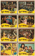 """Movie Posters:Comedy, Too Many Girls (RKO, 1940). Lobby Card Set of 8 (11"""" X 14"""").. ...(Total: 8 Items)"""