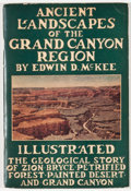 Books:Natural History Books & Prints, Edwin D. McKee. Ancient Landscapes of the Grand Canyon Region. [n. p.]: McKee, [1938]. Fifth edition. Octavo. 50 pag...