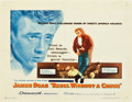 """Movie Posters:Drama, Rebel Without a Cause (Warner Brothers, 1955). Half Sheet (22"""" X 28"""").. ..."""