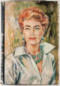 Books:Signed Editions, Joan Crawford. INSCRIBED. A Portrait of Joan. Garden City: Doubleday, 1962. First edition, first printing. Inscrib...