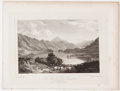 Antiques:Posters & Prints, Lot of 6 Antique Plates of Scottish Lochs and Castles. From TheLakes of Scotland by John Fleming, Glasgow: Joseph Swan,...
