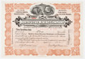 Antiques:Posters & Prints, Pair of Early 20th Century Gold Mining Company Stock Certificates: The Mary Murphy Gold Mining Company and The North Utah Mini...