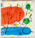 Books:Art & Architecture, James Thrall Soby. Joan Miro. Garden City: Doubleday, [1959]. First edition. Quarto. Publisher's binding and dust ja...