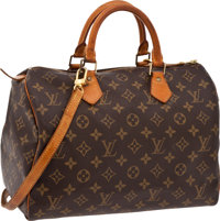 Louis Vuitton 30cm Classic Monogram Canvas Speedy with Silver Hardware