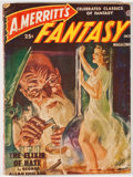 Books:Pulps, A. Merritt's Fantasy. October, 1950 Issue. New York:Recreational Reading, 1950. Publisher's wrappers with moder...