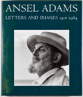 Books:Photography, Mary Street Alinder and Andrea Gray Stillman [editors]. Ansel Adams: Letters and Images 1916-1984. First edition. Qu...