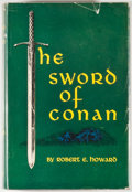 Books:Science Fiction & Fantasy, Robert E. Howard. The Sword of Conan. New York: Gnome, [1952]. First edition, first printing. Octavo. 251 pages. Pub...
