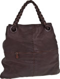 Luxury Accessories:Bags, Bottega Veneta Chocolate Leather Large Hobo. ...