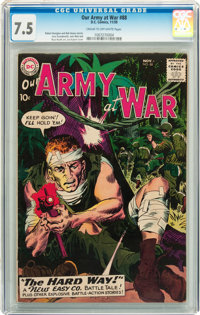 Our Army at War #88 (DC, 1959) CGC VF- 7.5 Cream to off-white pages