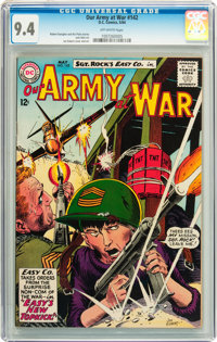 Our Army at War #142 (DC, 1964) CGC NM 9.4 Off-white pages
