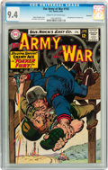 Silver Age (1956-1969):War, Our Army at War #155 Savannah pedigree (DC, 1965) CGC NM 9.4 Cream to off-white pages....