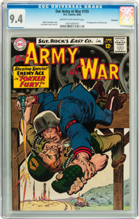 Our Army at War #155 Savannah pedigree (DC, 1965) CGC NM 9.4 Cream to off-white pages