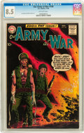 Silver Age (1956-1969):War, Our Army at War #100 (DC, 1960) CGC VF+ 8.5 Off-white pages....