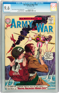Our Army at War #132 (DC, 1963) CGC NM+ 9.6 Off-white to white pages