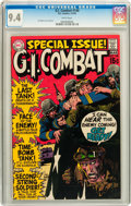Bronze Age (1970-1979):War, G.I. Combat #140 (DC, 1970) CGC NM 9.4 White pages....