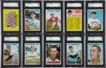 Baseball Cards:Lots, 1967 Topps Baseball SGC 96 Mint 9 Collection (28 Different). ...