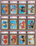 Football Cards:Sets, 1966 Topps Football High Grade Near Set (131/132) - With Over 30PSA Graded Cards. ...