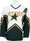 Hockey Collectibles:Uniforms, 2005-06 Brenden Morrow Game Worn Dallas Stars Jersey....