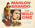 "Movie Posters:Drama, The Wild One (Columbia, 1953). Half Sheet (22"" X 28"").. ..."